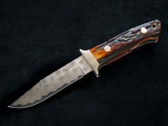 Damascus Folding knife.